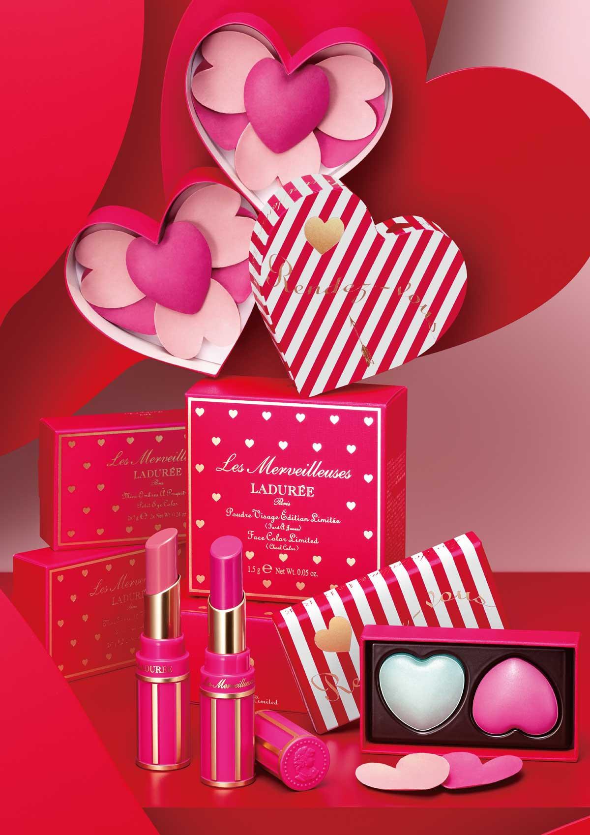 【バレンタインコスメ2020】ピュアなハートモチーフで甘く彩る「ラデュレ」の2020スプリングコレクション