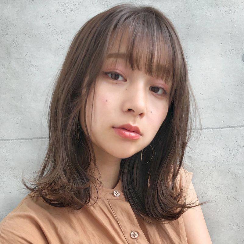 前髪 ヘア カタログ