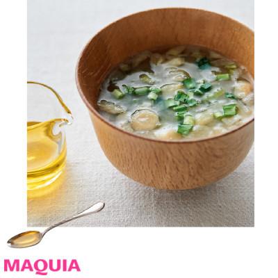 【インナービューティー | 食事やドリンク、サプリなどダイエットにもおすすめのインナーケアとその効果は?】_アマニ油やえごま油はスプーン1杯をちょい足しすればOK! 味噌汁
