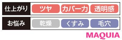 【パウダーファンデーション2020】カバーマーク シルキー フィット_仕上がり・お悩み別