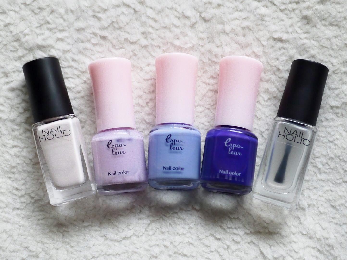 【春夏のセルフネイル】ブルー系カラーでまとめた、爽やかカモフラネイル_5