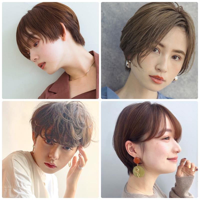 2020年最新 ショートの人気ヘアスタイル 髪型まとめ 好感度も 今
