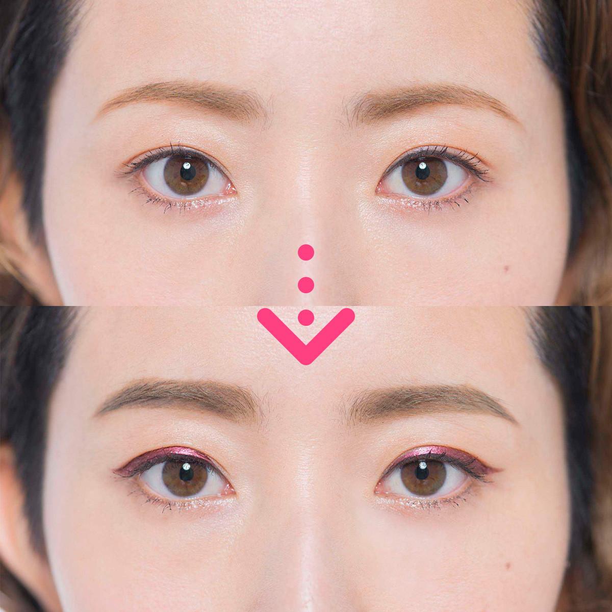【トレンド眉メイク】地眉がかなり細い場合の今どき顔メイクテク2