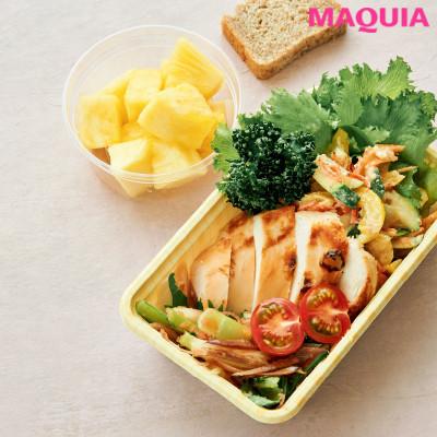 【ダイエットにもおすすめの食事やメニューは? Atsushi流レシピ】_グリルチキンと夏野菜のサラダ
