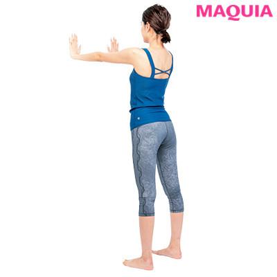 【女性向け・背中の筋肉をほぐす筋トレやストレッチ】背中瞬間サイズダウン_1