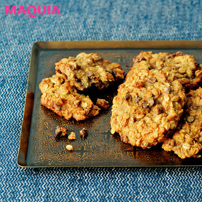 【インナービューティー | 食事やドリンク、サプリなどダイエットにもおすすめのインナーケアとその効果は?】_おやつは食物繊維たっぷりの手作り美腸クッキーを