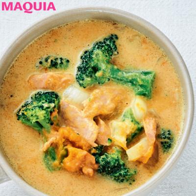 【ダイエットにもおすすめの食事やメニューは? Atsushi流レシピ】_きな粉のアンチエイジングとコク出し効果は絶大「豆乳味噌きな粉スープ」