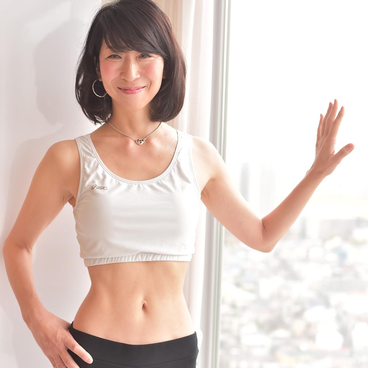 【本気で痩せたいあなたに】50代にして驚異のウエスト58cmをキープ! 健康運動指導士・植森美緒さん-1