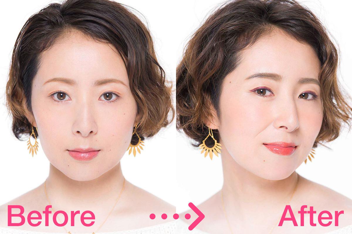 【トレンド眉メイク】地眉がかなり細い場合の今どき顔メイクテク1