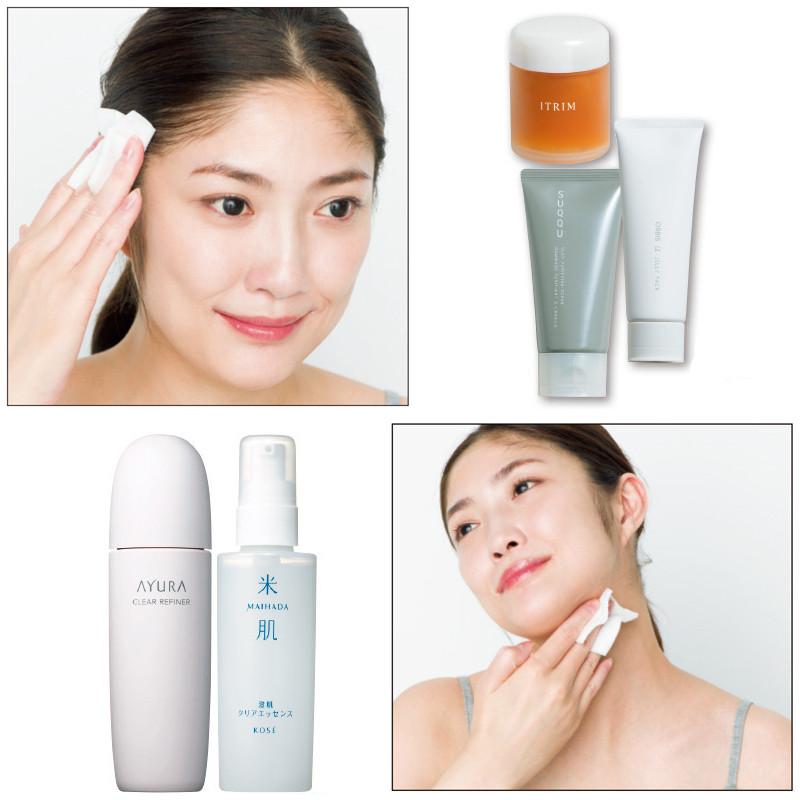 【顔の角質ケアにおすすめのお手入れ方法】洗顔・パック・拭き取り化粧水でザラつきや毛穴の詰まり対策を!