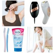ムダ毛処理におすすめの商品(女性向け)  ワックス、シェーバー、脱毛器などセルフ脱毛に役立つアイテムまとめ