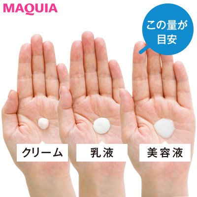 【正しいスキンケアの順番】4.乳液・美容液・クリーム4