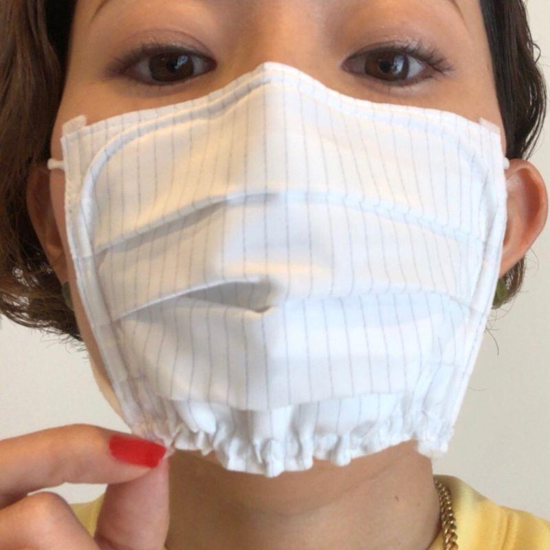 【花粉対策 | メイクの上から使えるスプレーなどおすすめアイテムまとめ】ピッタリッチ 使い捨てマスク 女性用小さめ Mサイズ_4