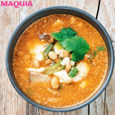 【ダイエットにもおすすめの食事やメニューは? Atsushi流レシピ】_納豆とコチュジャン、2つの発酵食品で腸内環境改善「納豆チゲスープ」