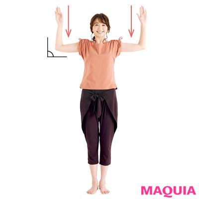 【女性向け・背中の筋肉をほぐす筋トレやストレッチ】肩に効く、肩甲骨ほぐし_2