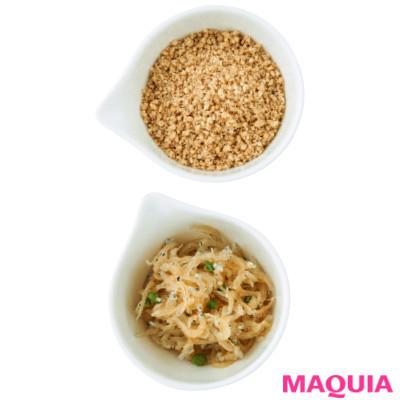 【ダイエットにもおすすめの食事やメニューは? Atsushi流レシピ】_ふりかけるだけで栄養価UP! すりごま&じゃこ