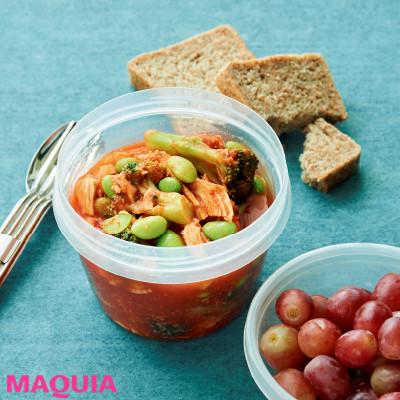 【ダイエットにもおすすめの食事やメニューは? Atsushi流レシピ】_サラダチキンのトマトスープ