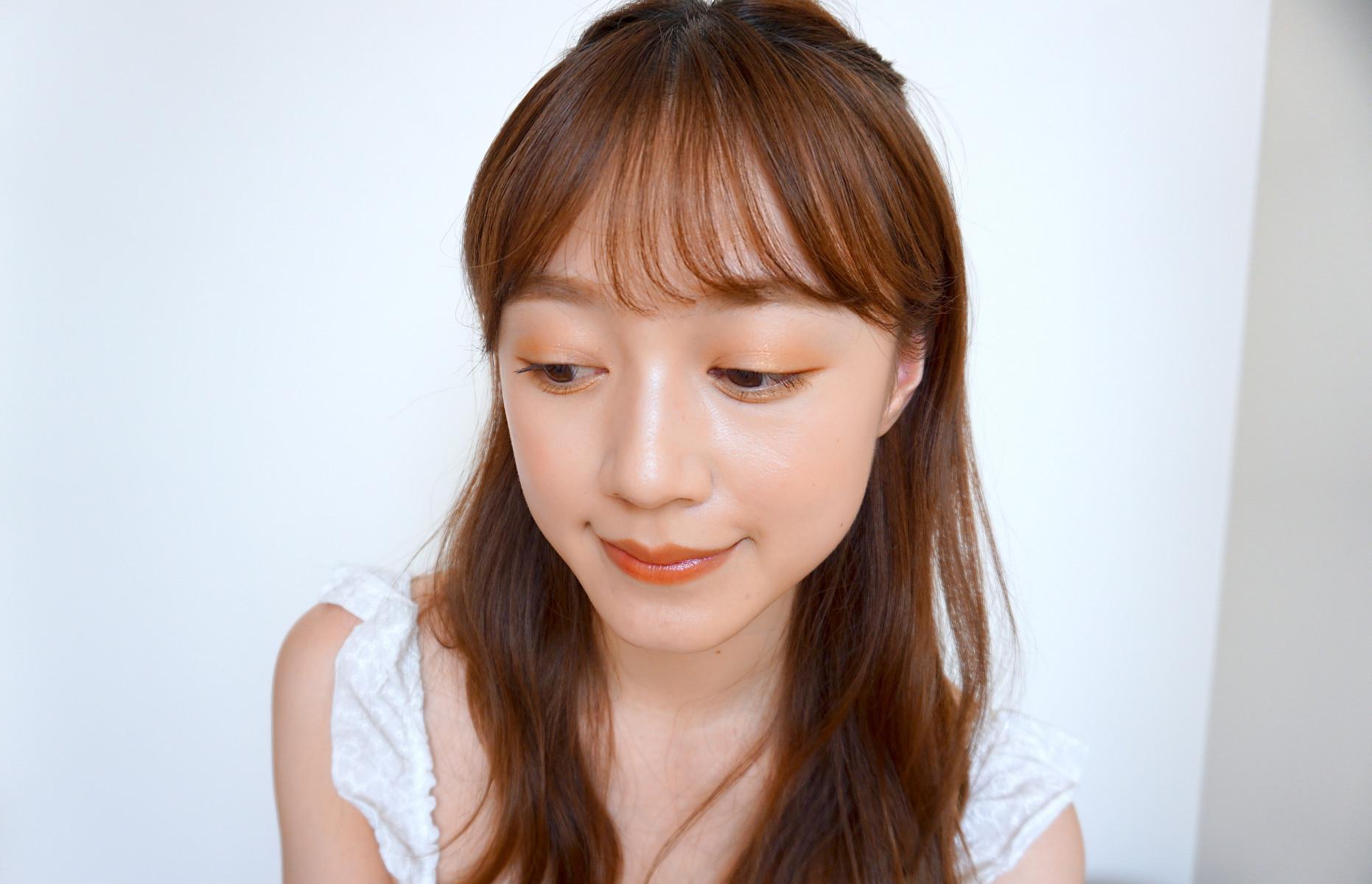 【柿色メイク】マキア公式ブロガーがおすすめする柿色メイク_チーム★マキアはるぴさん-4