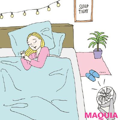 【快眠やリラックスに! おすすめストレッチ&正しい眠り方まとめ】暖房は19℃にしてサーキュレーターで循環_