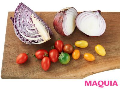 【ダイエットにもおすすめの食事やメニューは? Atsushi流レシピ】_3.美肌対策に! 彩り野菜で 食物繊維 & 抗酸化成分 をチャージ