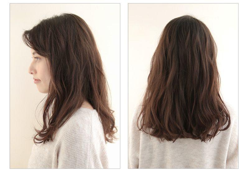 【2020年春夏におすすめのヘアスタイル】ロングヘア_ラクラク時短できる、エアリーシルエットのゆるウェーブミディ_2