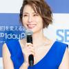 自身の20年前の姿に驚き! 米倉涼子さんがコンタクトレンズ新製品発表会に登場