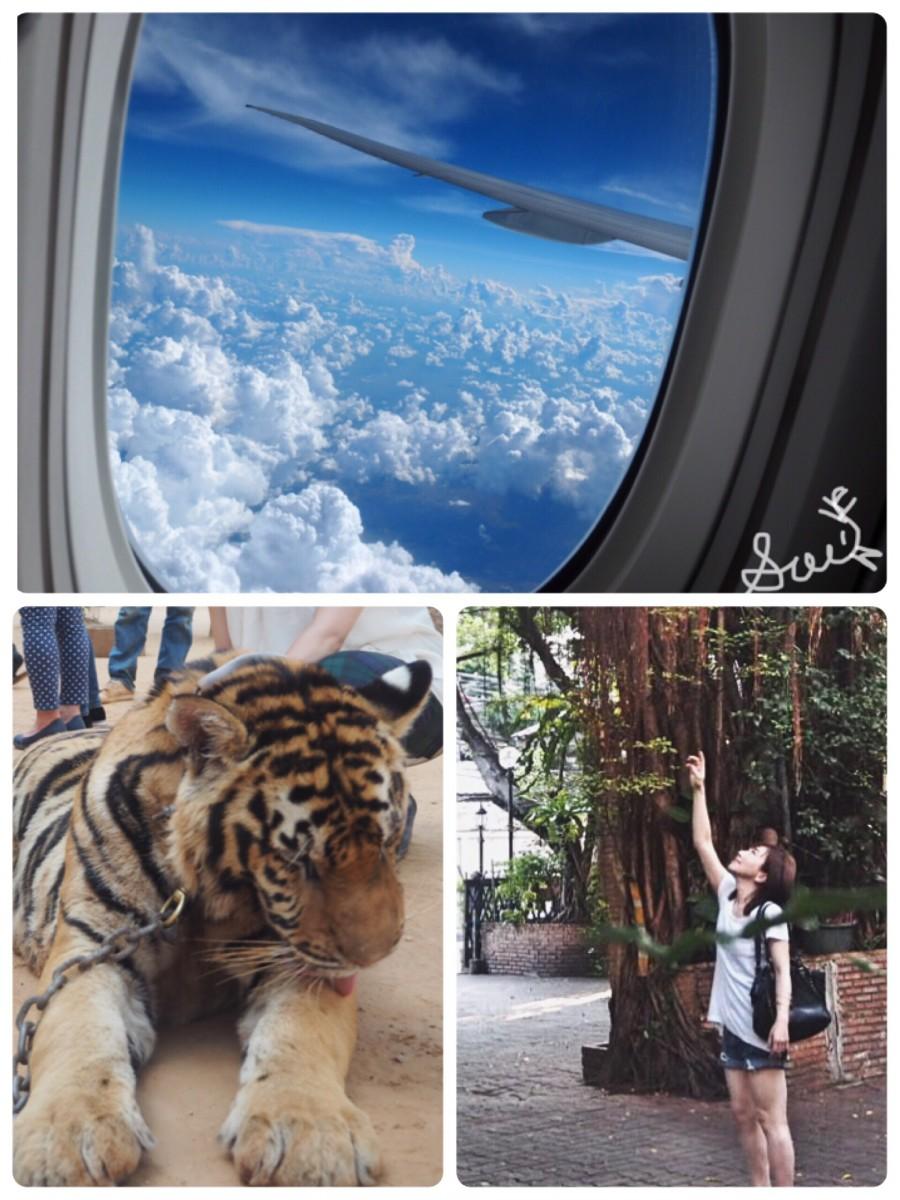 タイ旅行!!オシャレスポット沢山のタイの旅行記(前編)