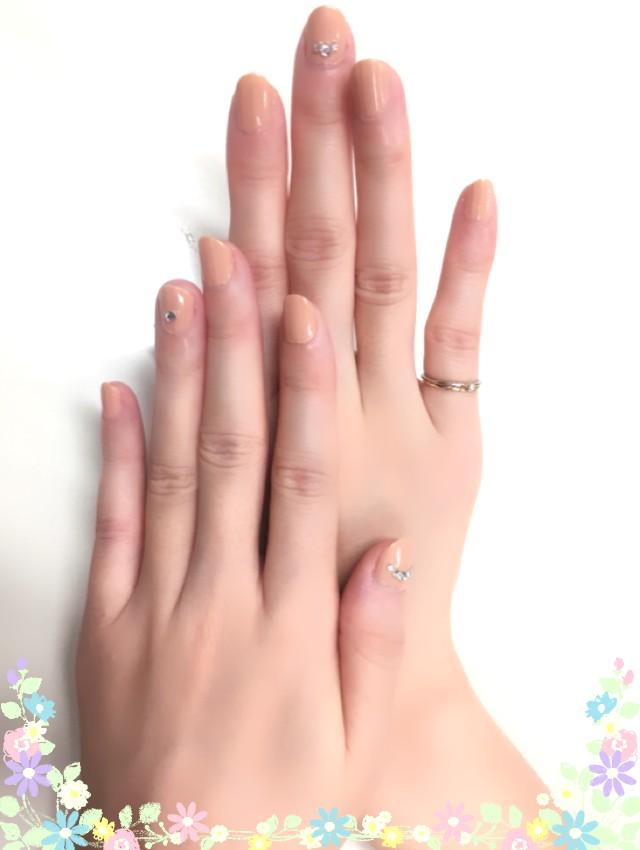 プチプライス☆ベージュネイル♪