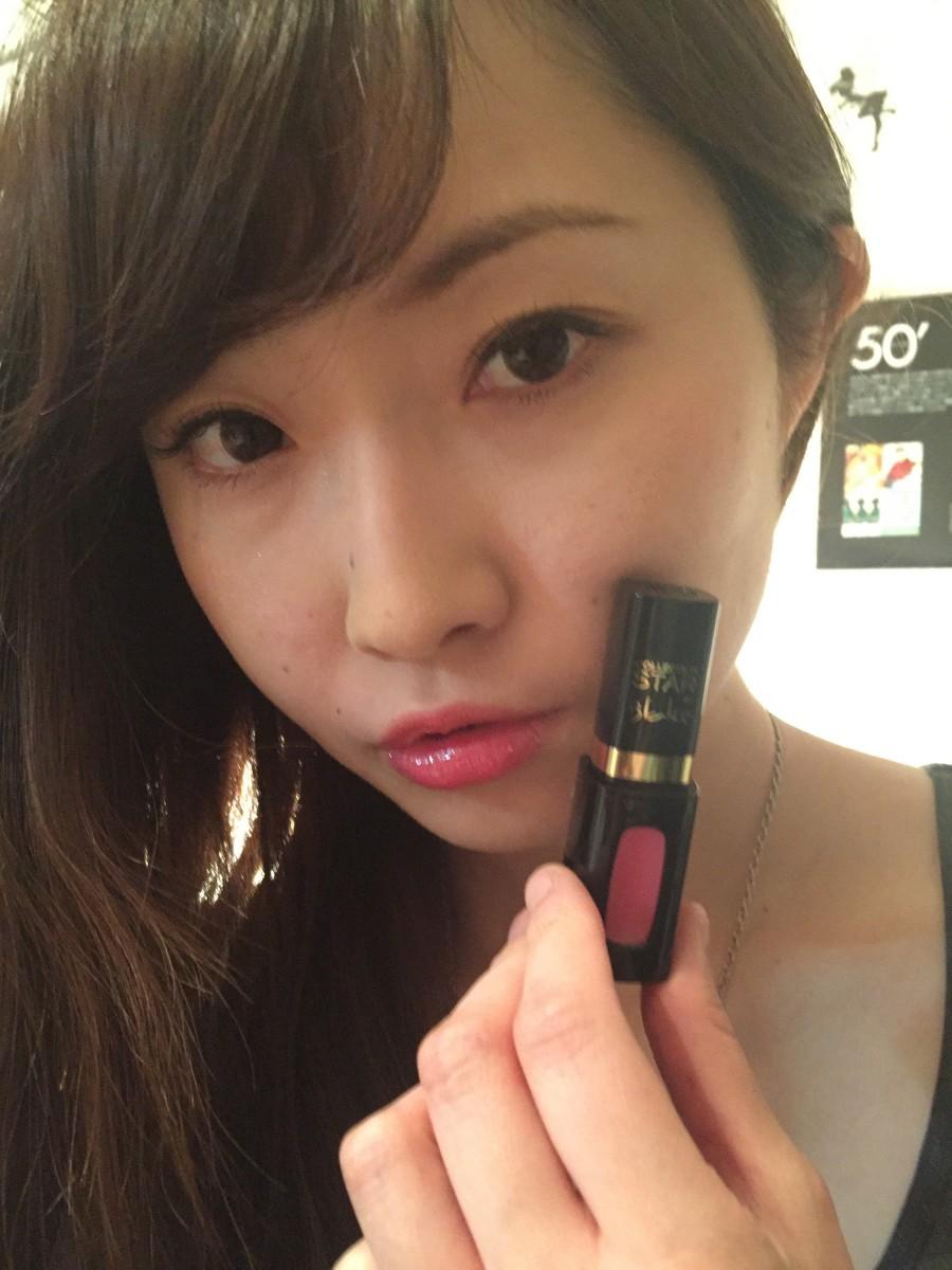 あのゴシップガールで有名なブレイクが日本人女性のために選んだロレアルパリのローズルージュ♥♥