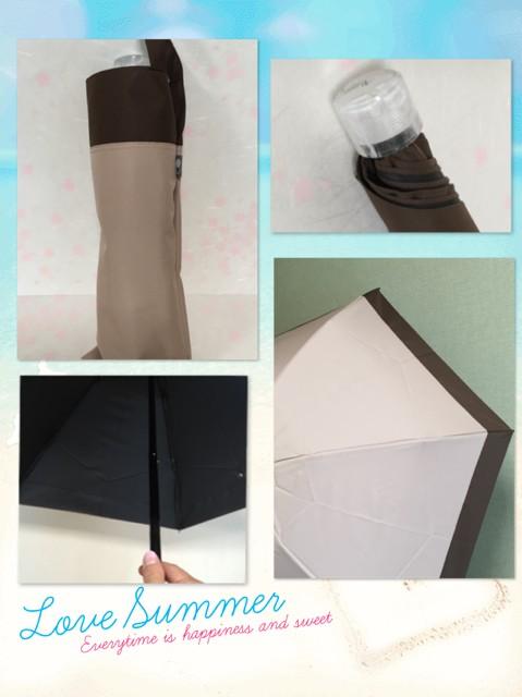 日傘を新調☆サンバリア100の完全遮光日傘