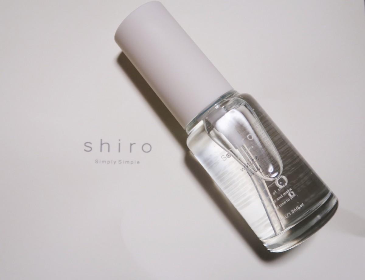 シンプルなパッケージと爽やかな香りに惚れ惚れ♪即買いしたshiroのヘアオイル