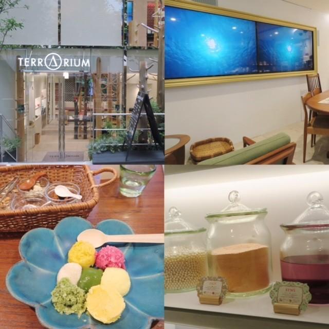コスメにSPA、食まで楽しめる美容スポット☆テラリウム表参道