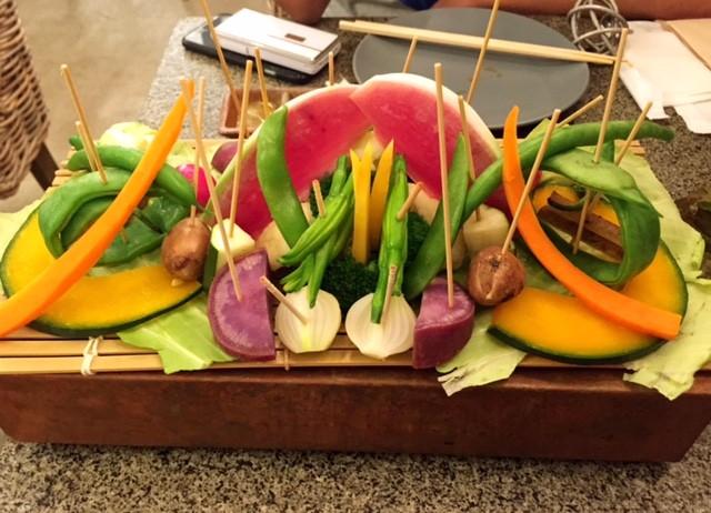 マキア10月号で紹介されているお野菜たっぷりなごはん屋さん。
