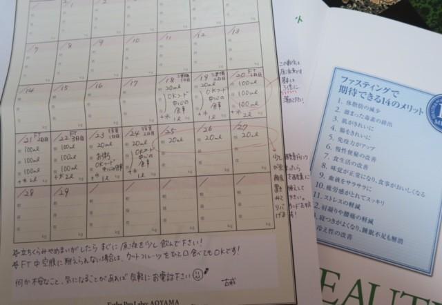 準備期2日+ファスティング3日+ 回復期2日の7日間のファスティングプログラム結果!~後半戦~