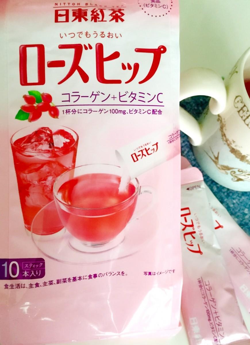 《インナービューティー》日東紅茶のローズヒップ