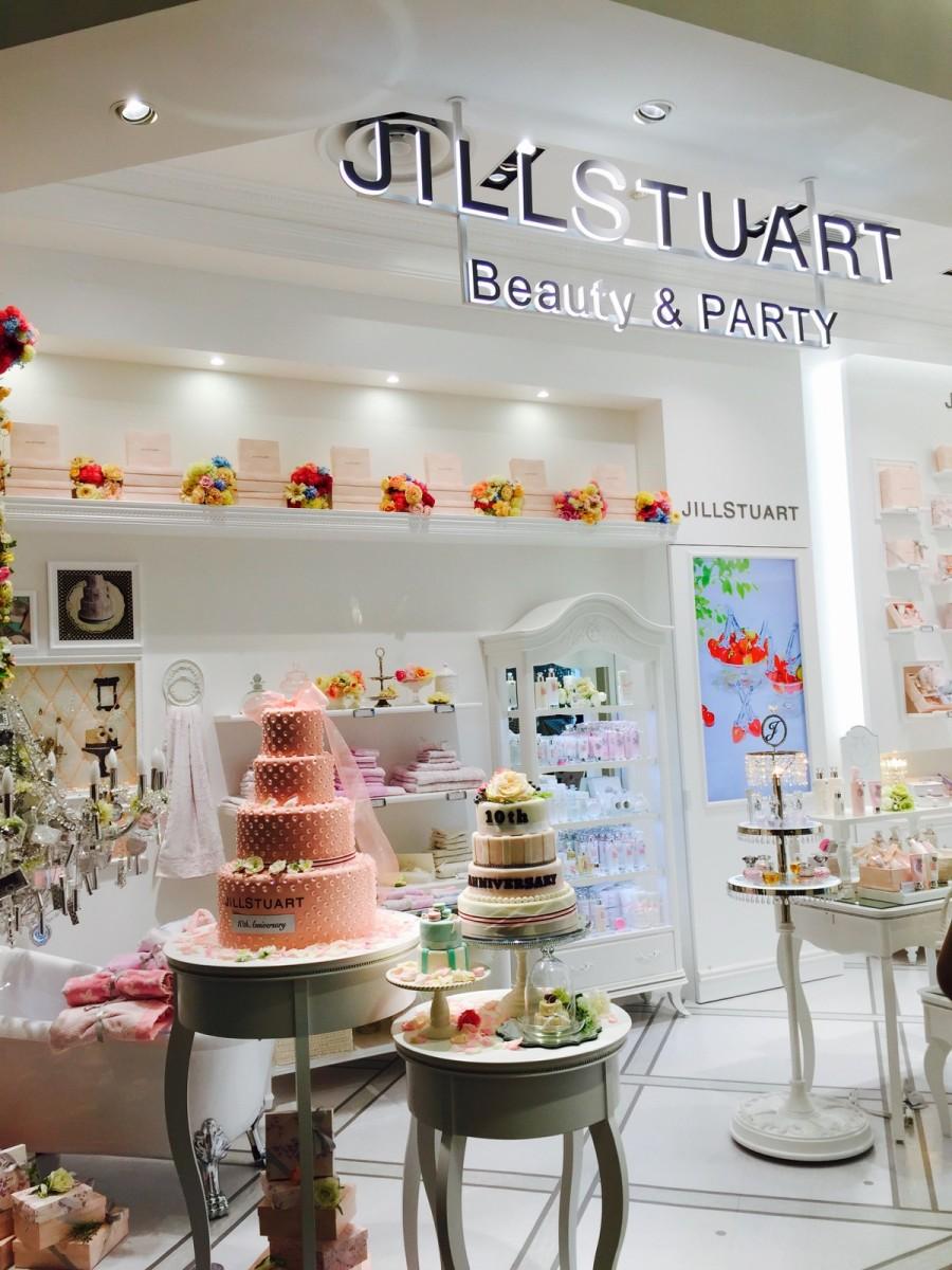 《ジルスチュアート ビューティ》可愛いギフトをそろえた新店がオープン。