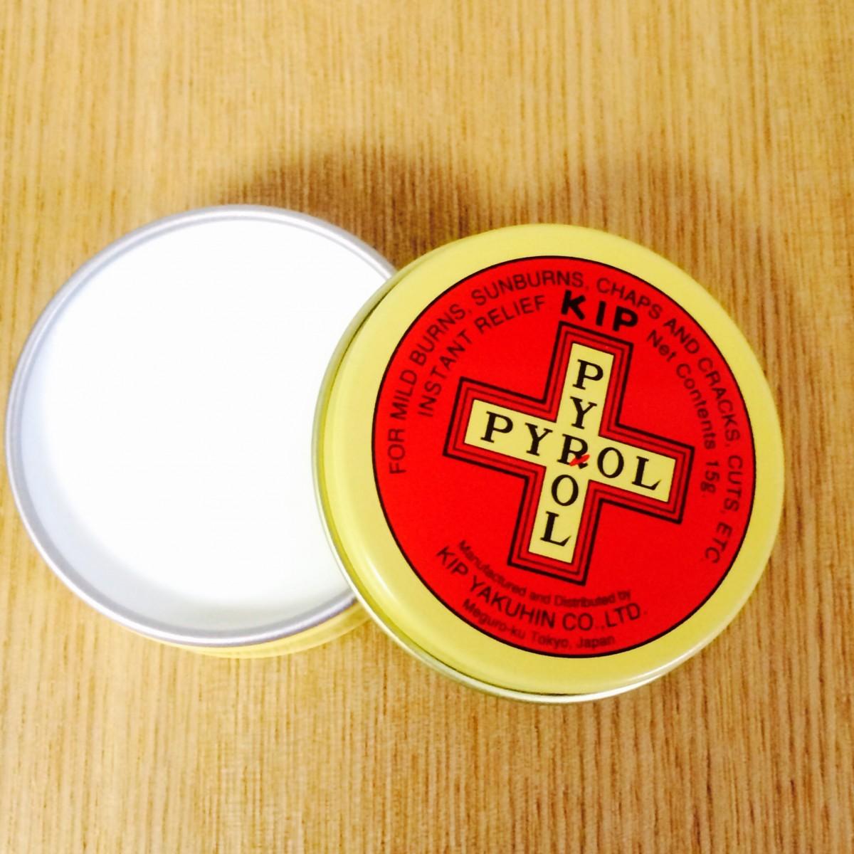 レトロ缶 loveな軟膏! キップパイロール