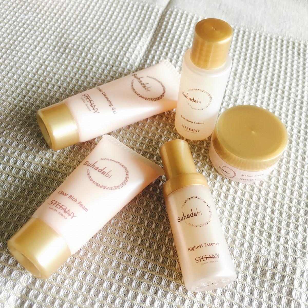 3大美肌成分が美肌を作る⁉︎ ステファニー化粧品のSuhadabi♪