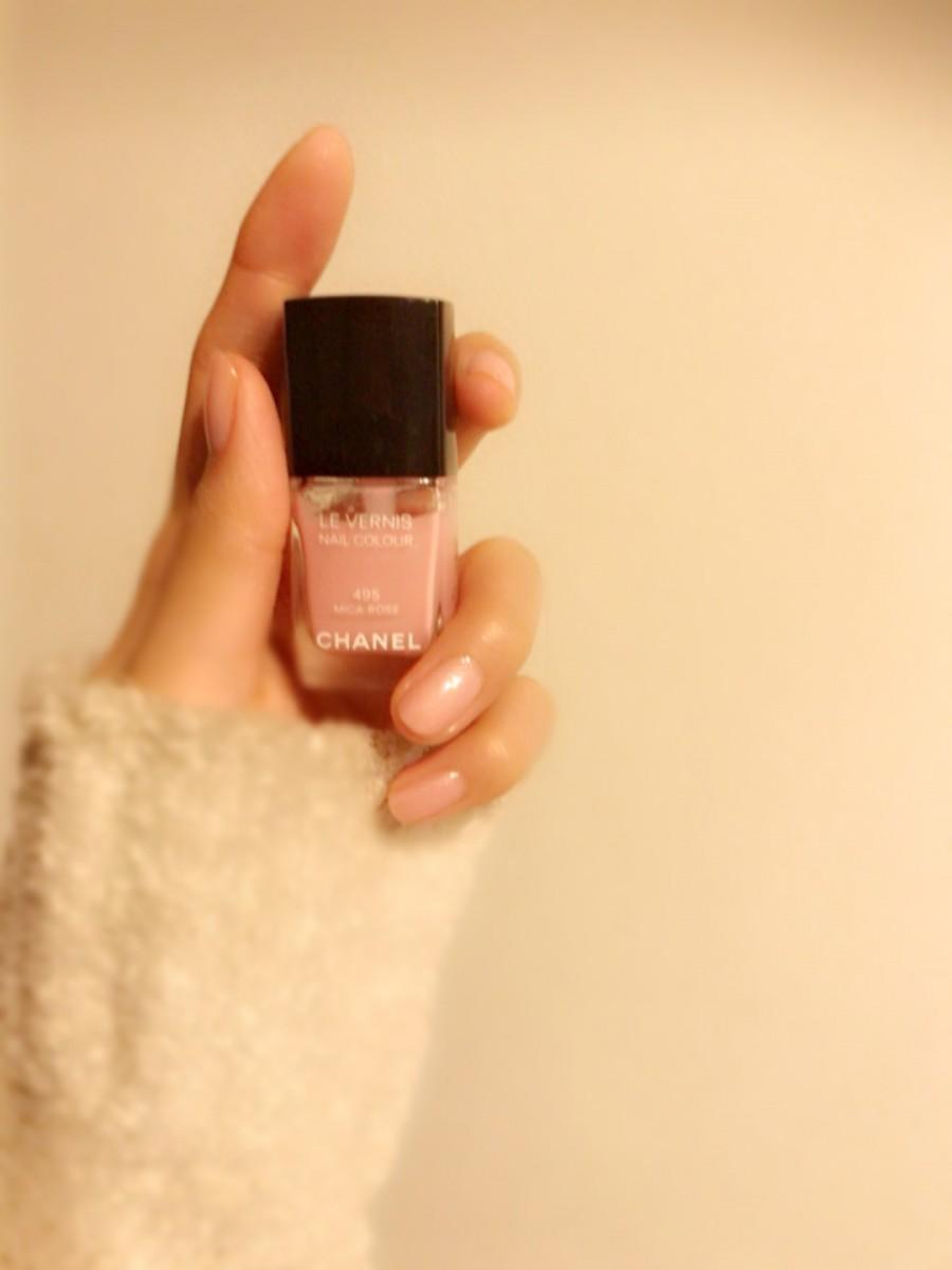 【CHANELのピンクネイル】今年のマストカラーピンクをシャネルで♡