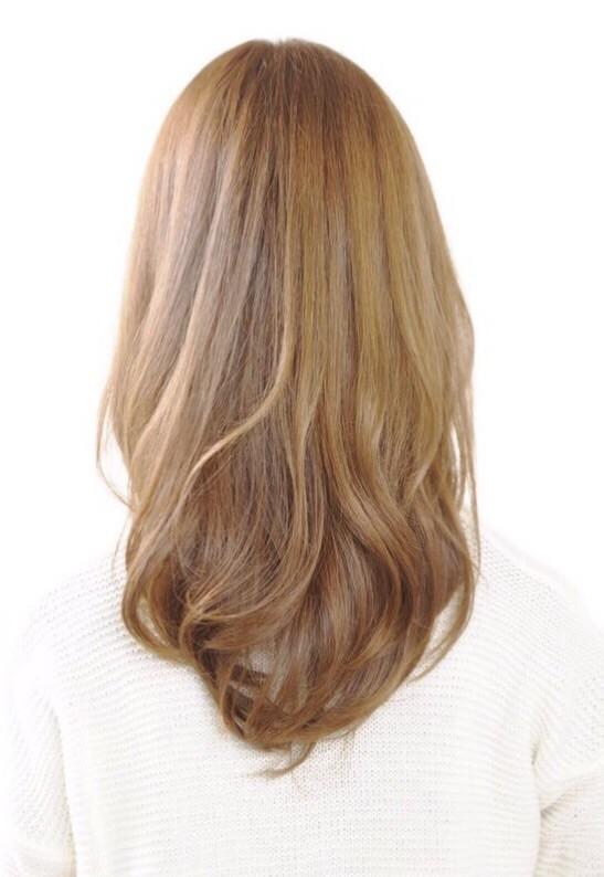 潤う髪の毛