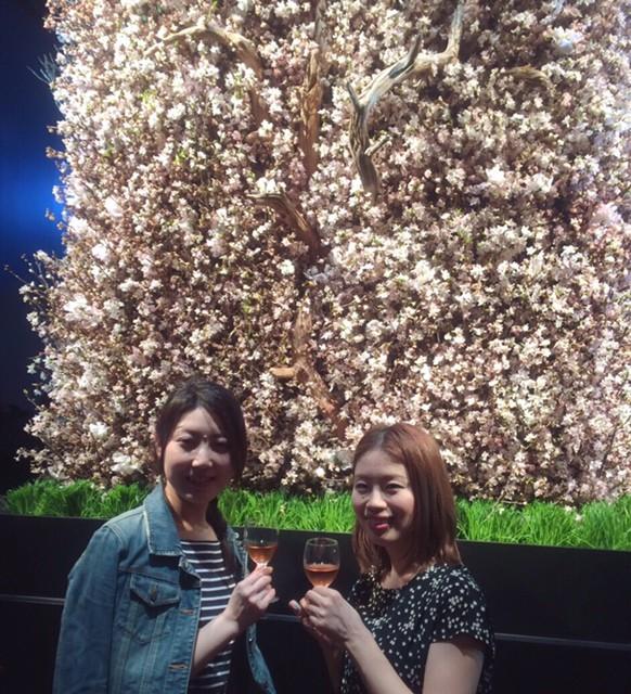 豪華!華やか♡資生堂「美と花あそび」で大人女子のお花見してきました(^^)