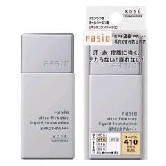 ファシオ コーセー ウルトラフィット&ステイ リキッドファンデーション