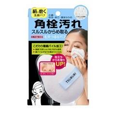 角栓からめ取り 洗顔シルクパフ