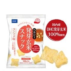 DHC(ディーエイチシー) DHC ヘルシー発芽玄米スナック コンソメ味