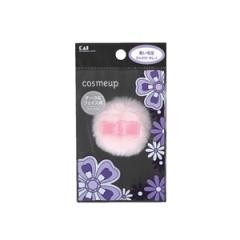 cosmeup 貝印 チーク&フェイス用パフ コンパクト