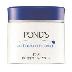 洗い流すコールドクリーム