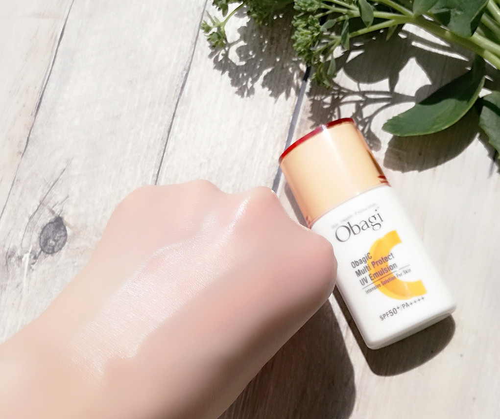 オバジC マルチプロテクト UV乳液